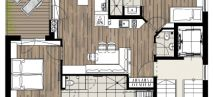 Appartement II Plan