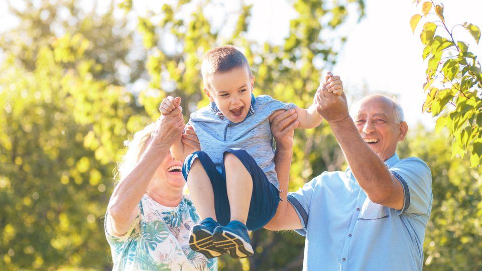 Happy Days mit Oma und Opa!