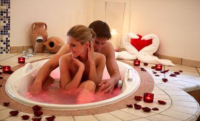 Bagno romantico nella Private Spa