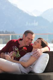 Honeymoon-Angebot für Verliebte