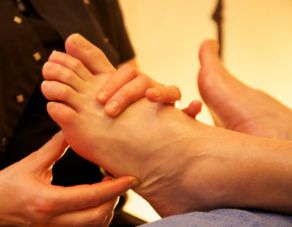 Foot reflextion massage