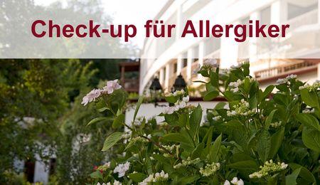 Gesundheitscheck für Allergiker