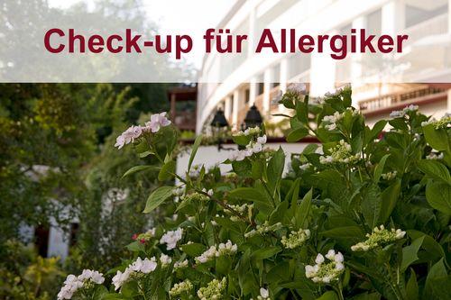 Gesundheitscheck - Allergiker geeignet