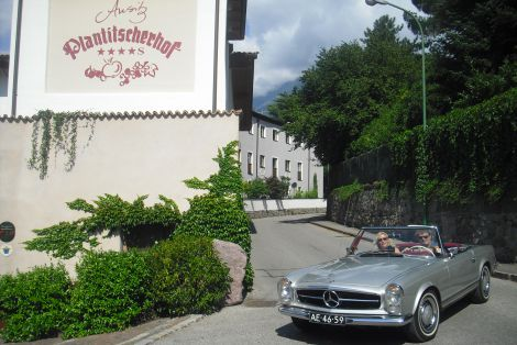 South Tyrolean classic car week with your own classic car