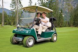 Hoteleigenes Golfcart