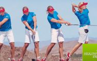"""Golf & Gesundheit - Erleben Sie 4 interessante Tage mit Healthy Swing Erfinder und Biomechaniker Dr. Christian Haid und dem Team der Golfschule Mieming. Lernen Sie die physikalischen Tricks und """"Magic Moves"""" kennen, damit Ihre Bälle mit einem Gefühl der Leichtigkeit weit fliegen. Und das völlig schmerzfrei."""