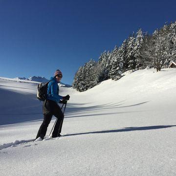 Mit Schneeschuhen durch das Alpbachtal