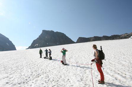 * Piz Buin 3.312 Meter - auf den höchsten Berg Vorarlbergs   2 Tage