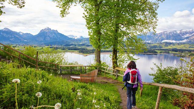 Hiking in Hopfen