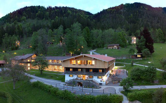Der Tannerhof in den bayrischen Bergen