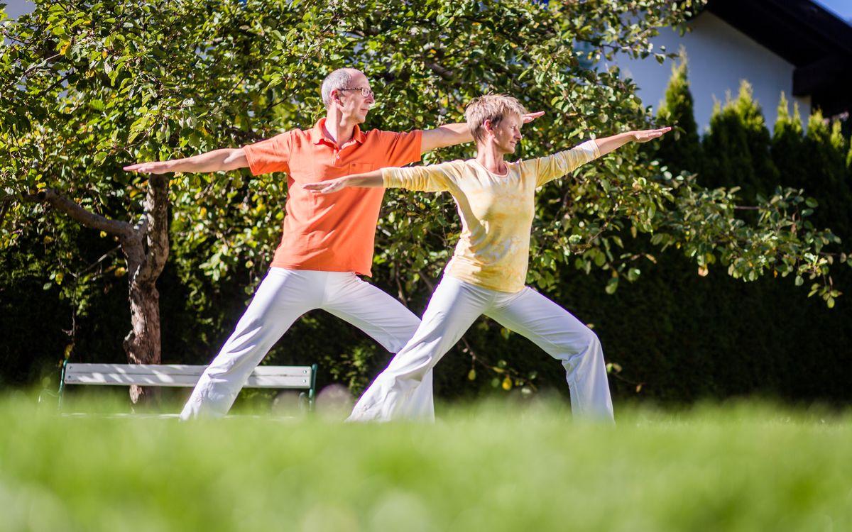 Yoga und Wellness
