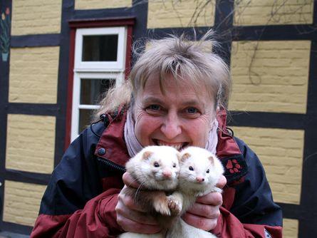 Waldzeit & Tierbegegnung mit Försterin Tatjana Jensen & ihren Frettchen | 7 Übernachtungen
