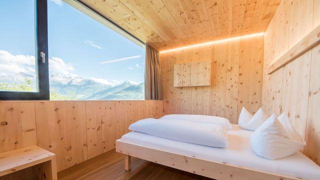 Double room sun salutation stone pine