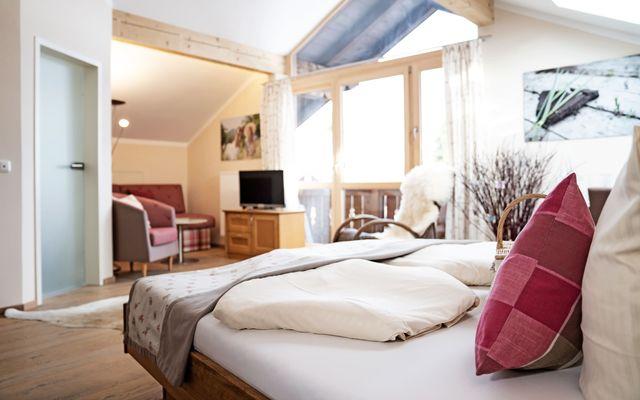 Biohotel moor&mehr:  Panorama Suite Wildrose