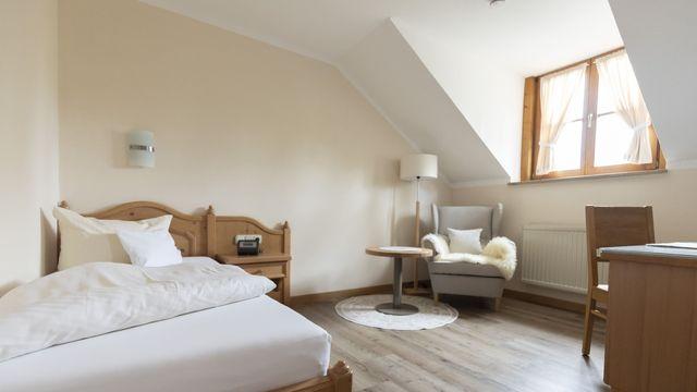 Komfort-Einzelzimmer Holunder ohne Balkon