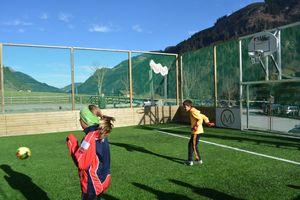 Familien-Aktivwoche mit Fußballcamp