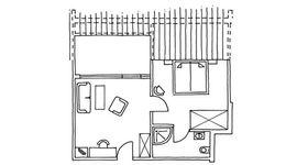 Appartement mit Dachterrasse