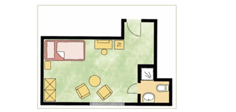 """Single room """"Feldberg"""" 3/3"""