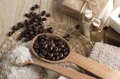 Coffee peeling
