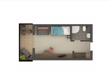 Single room Laugen