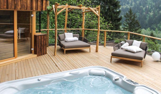 Neu: Wald-Chalet