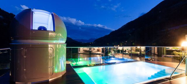 Luxus Deal: Das Sky-Chalet mit Sternwarte, Pool, Hot-Whirlpool & Sauna