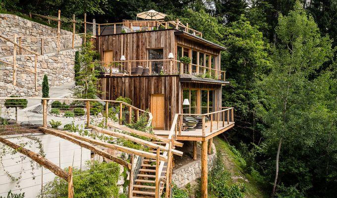 Wald-Chalet im Alpenschlössel