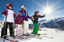 Sunny Skiing - Family Week! | 3 nights