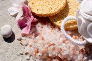 Tannenhonig – Salzpeeling