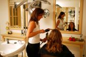 Wash, cut, blow dry and style