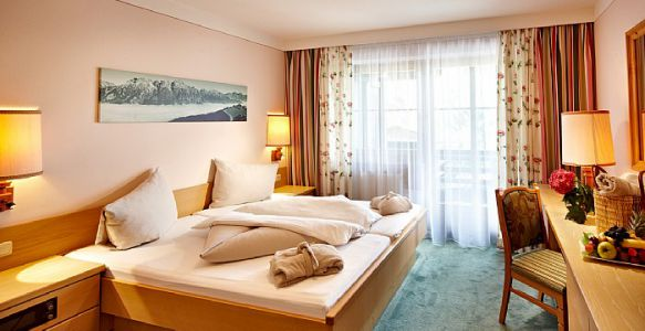 Doppelzimmer Classic im Steinleo (Asitzseite)