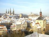 Silvester in Franken