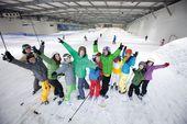 Ski-Spaß im SNOW DOME Bispingen