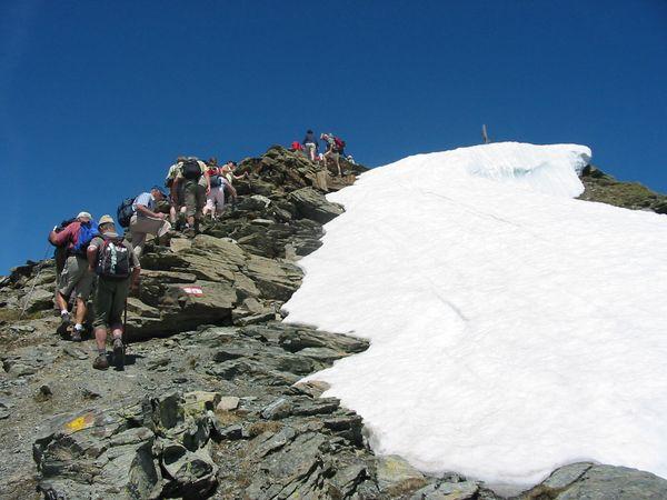 Settimana escursionistica in alta montagna