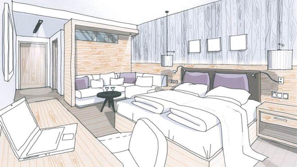 """Schlafzimmer """"Landstil Livingroom"""" Landhotel Voshövel"""