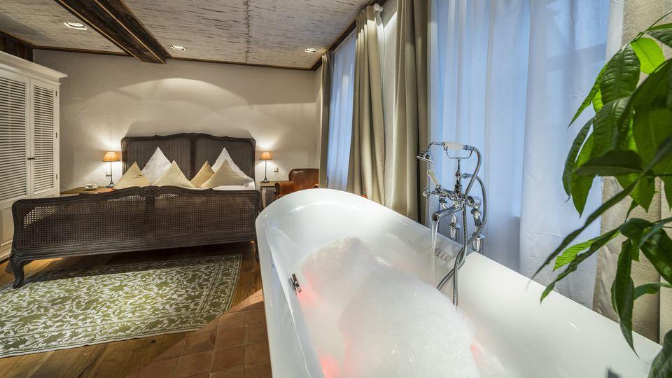 SPA Doppelzimmer mit Whirlwanne