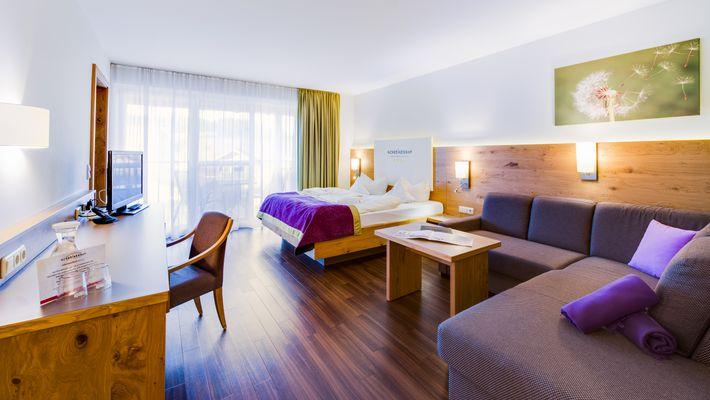"""Hotel Zimmer: Family-Suite """"Superior"""" 3-Raum - Schreinerhof in Schönberg"""