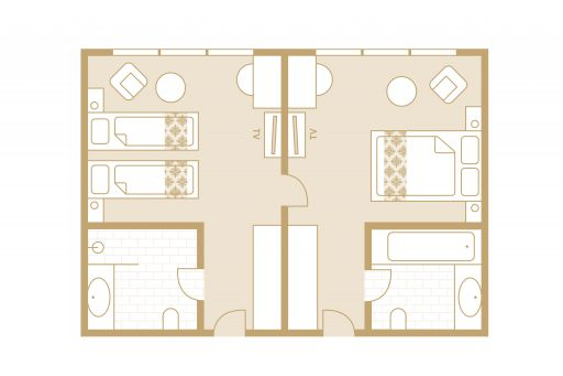 Familienzimmer - Skizzen