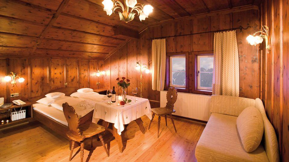 Pine wood room